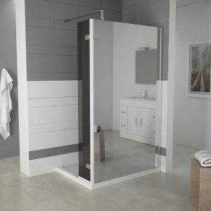 TERRA – Corner Wet Room With Return